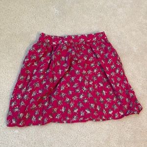 Abercrombie Kids Flower Skirt